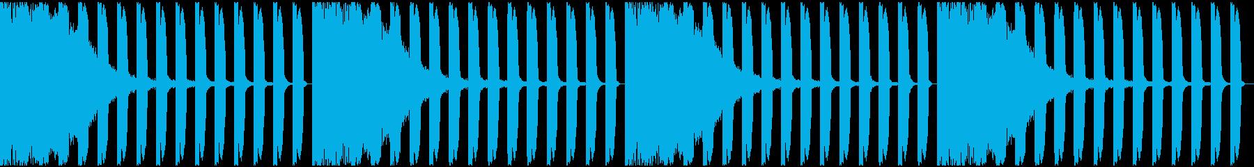 【EDM】ロング9、ミディアム1の再生済みの波形