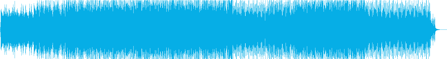 ニュース緊急速報BGMの再生済みの波形