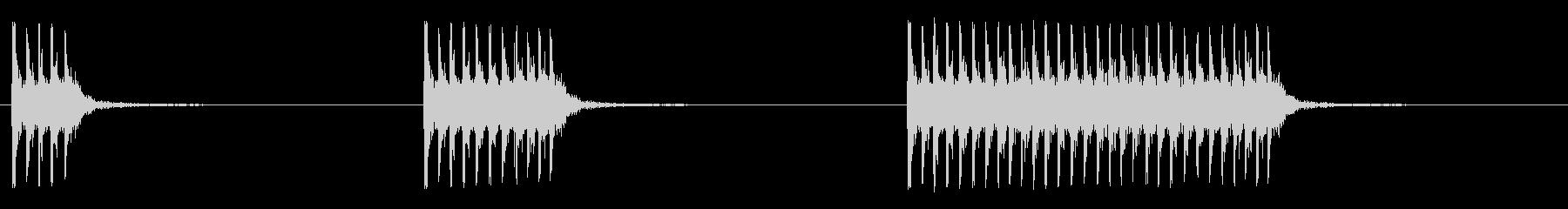三脚マウント0.50口径機関銃:シ...の未再生の波形