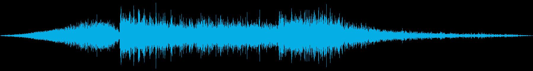 攻撃 大地 氷 衝突 風 エネルギーの再生済みの波形