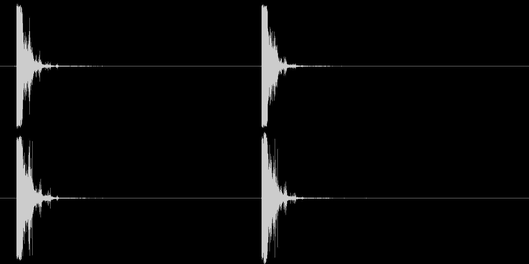 12ゲージショットガン:シングルシ...の未再生の波形