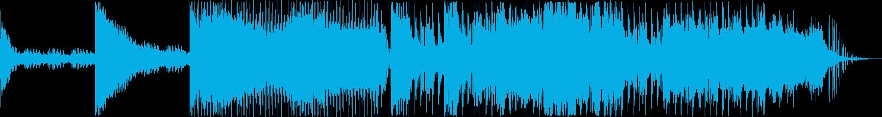 民族ボイス+アンビエント+パーカッショ…の再生済みの波形