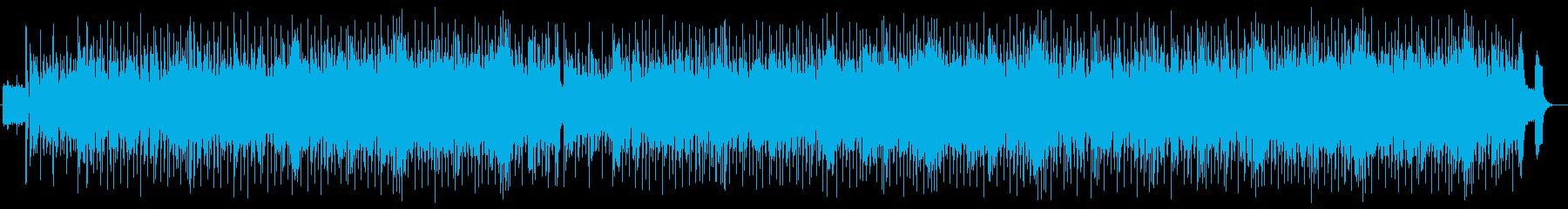マジックショー風シンセサイザーピアノ曲の再生済みの波形
