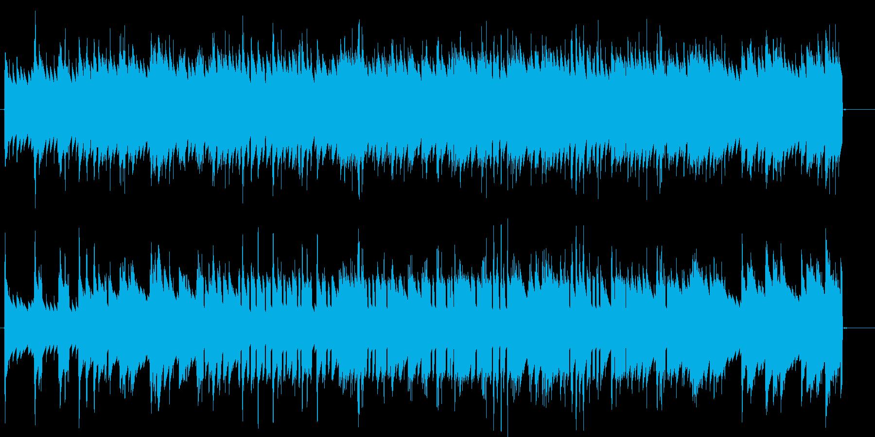 エレピ 軽快なジャズ 買い物 お店 商売の再生済みの波形