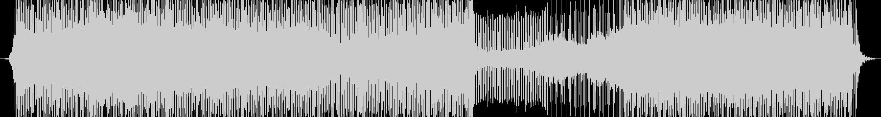 レトロなディスコとモダンなダンスポップの未再生の波形