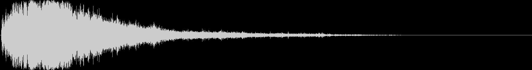 キラン☆シャキーン(水属性の魔法等)04の未再生の波形