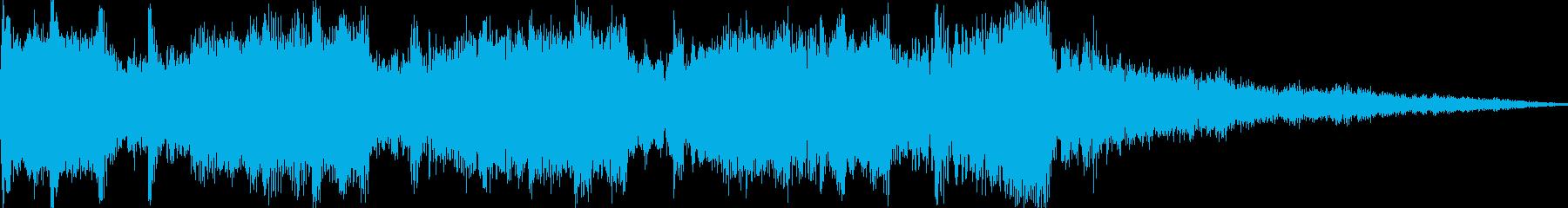 動画 ドキュメンタリーの再生済みの波形