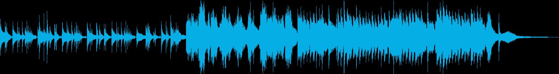 ピアノとヴァイオリンの切ない桜バラードの再生済みの波形