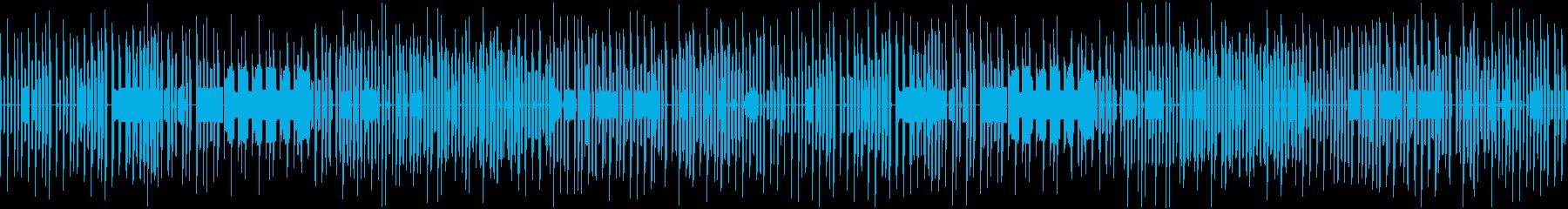 まぬけな雰囲気のチップチューンの再生済みの波形