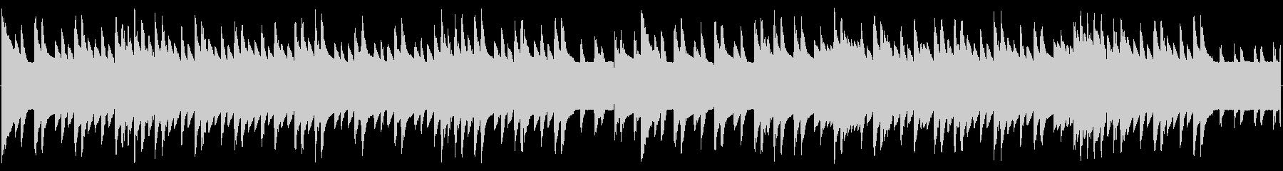 チップチューンの短いジャズループ4の未再生の波形