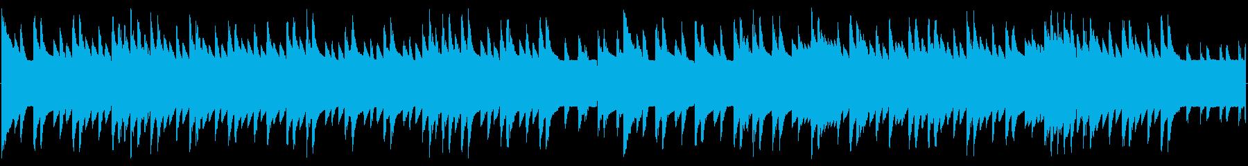 チップチューンの短いジャズループ4の再生済みの波形