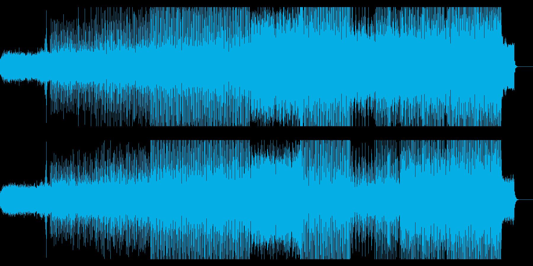 琴や和太鼓を使った和風のハウスの再生済みの波形