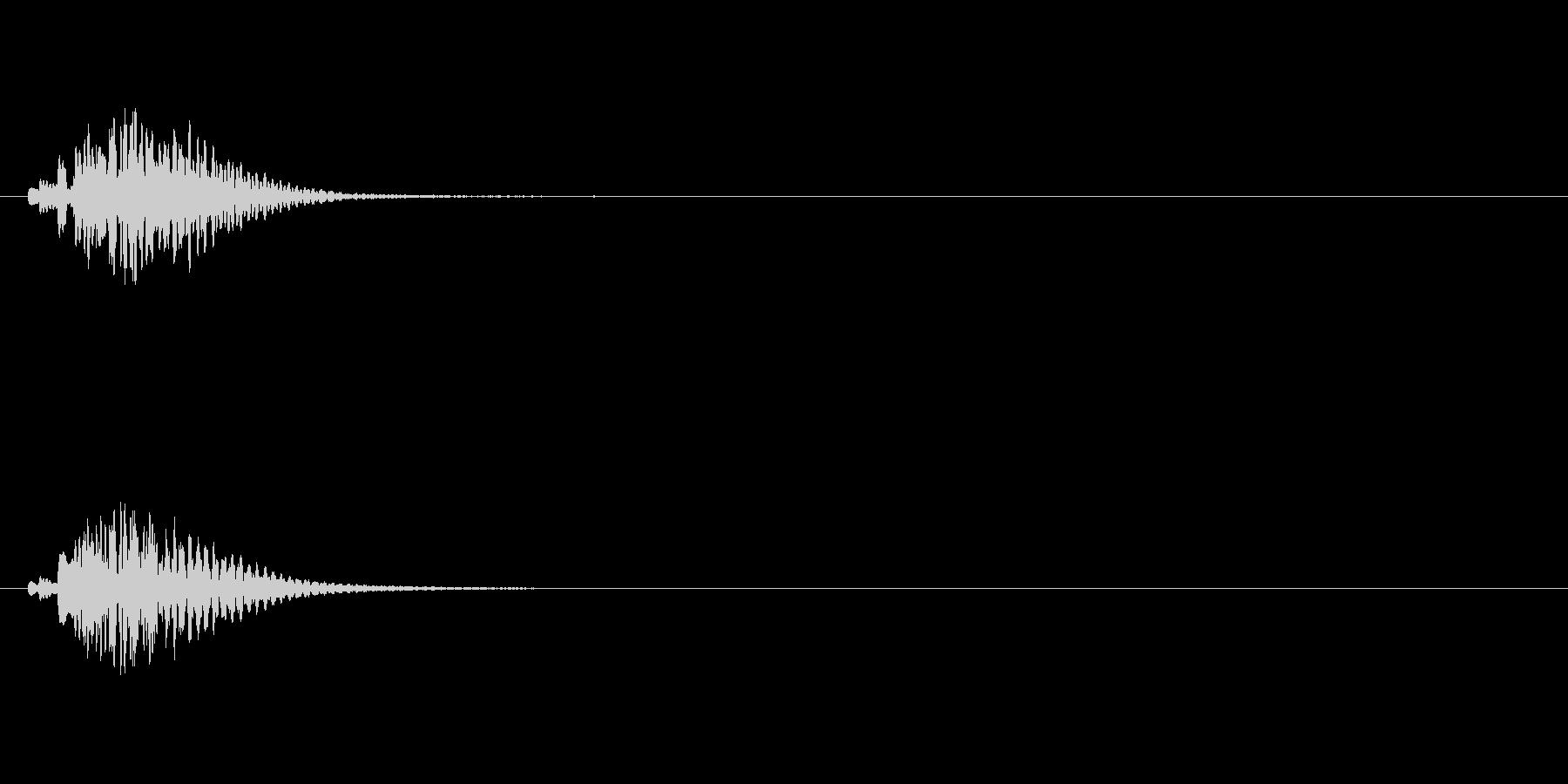 【ショートブリッジ03-2】の未再生の波形