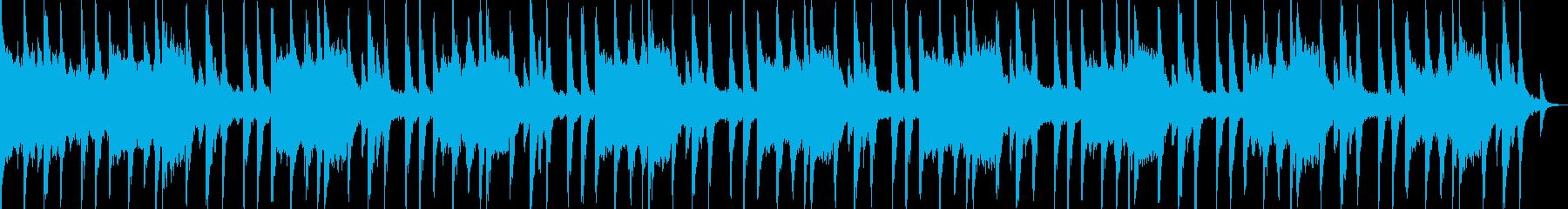 光の複雑な反射を描写の再生済みの波形