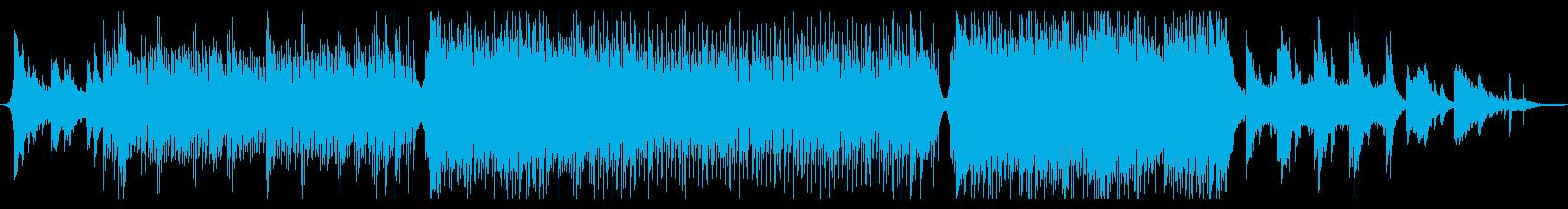 爽やかで、少し壮大な曲_アコギ生演奏の再生済みの波形