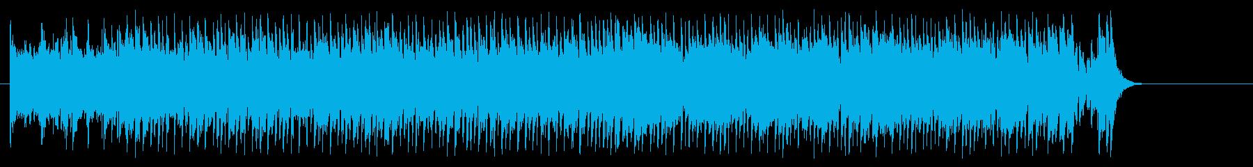 お買い物風爽やかポップ(イントロ~A…)の再生済みの波形