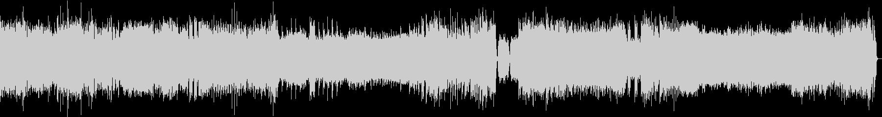 バロッククラシックEDMアレンジの未再生の波形
