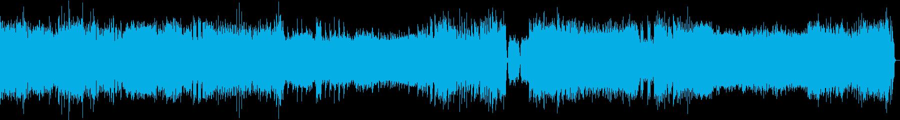 バロッククラシックEDMアレンジの再生済みの波形