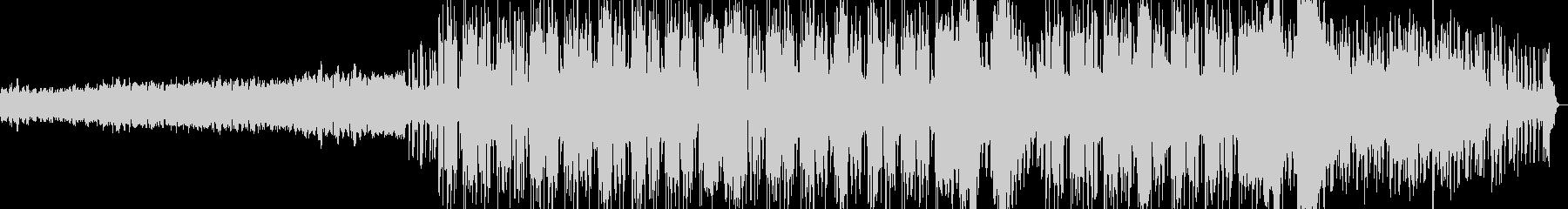 クリスピーなギターのブルージーロックの未再生の波形