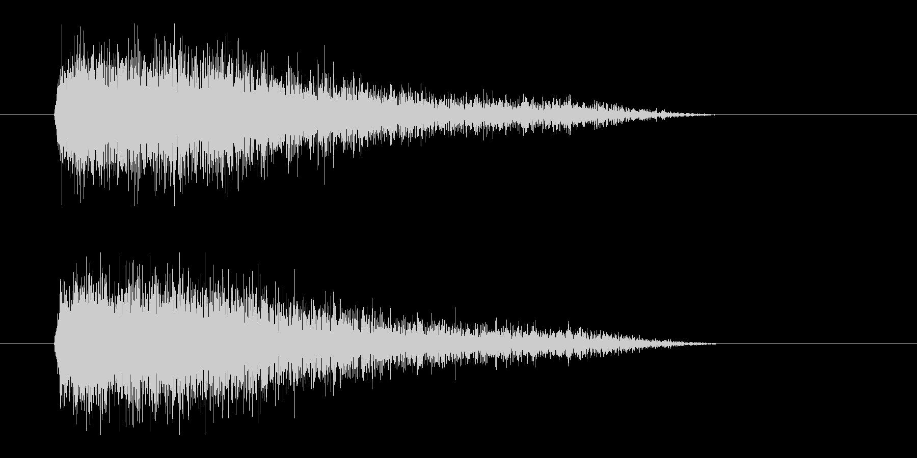 レーザー音-92-3の未再生の波形