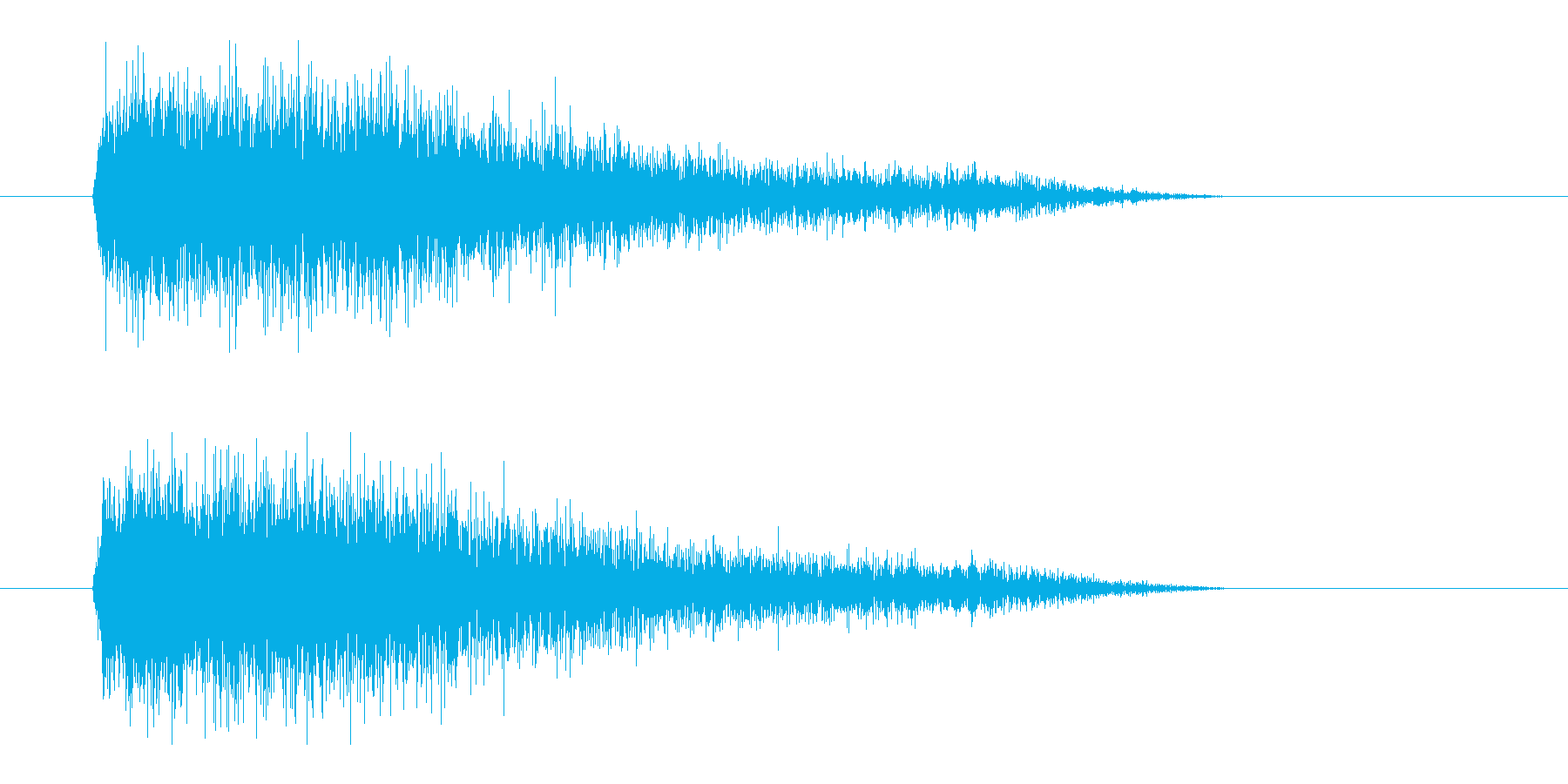 レーザー音-92-3の再生済みの波形