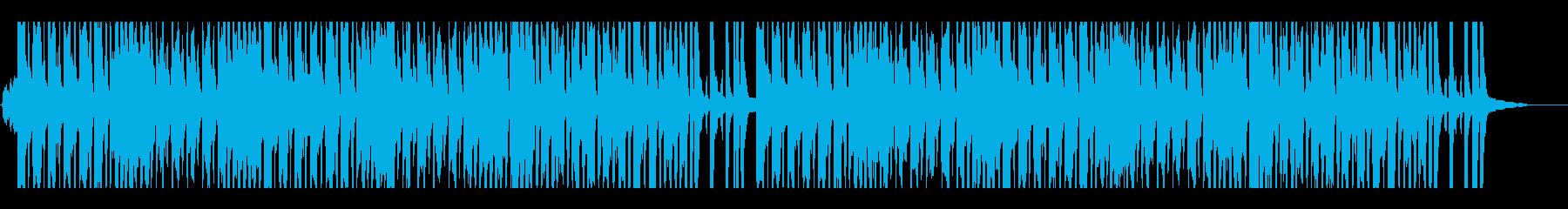 幸せで陽気なヨーロッパのアコーディオンの再生済みの波形