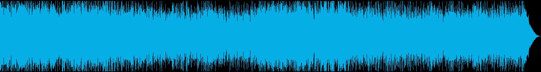 疾走感溢れるファスト・パンク・ロックですの再生済みの波形