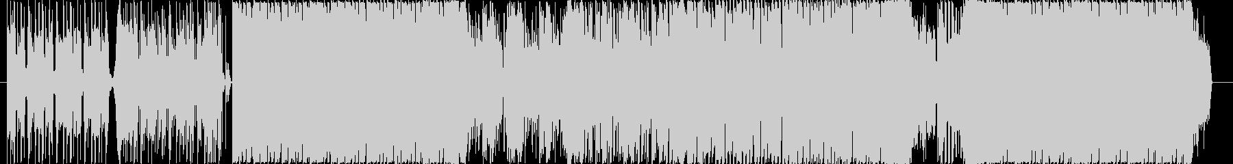 ボーカルチョップを使ったクールなハウス系の未再生の波形