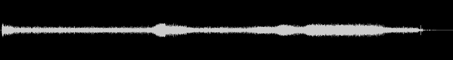 原付バイクのアイドリング音の未再生の波形