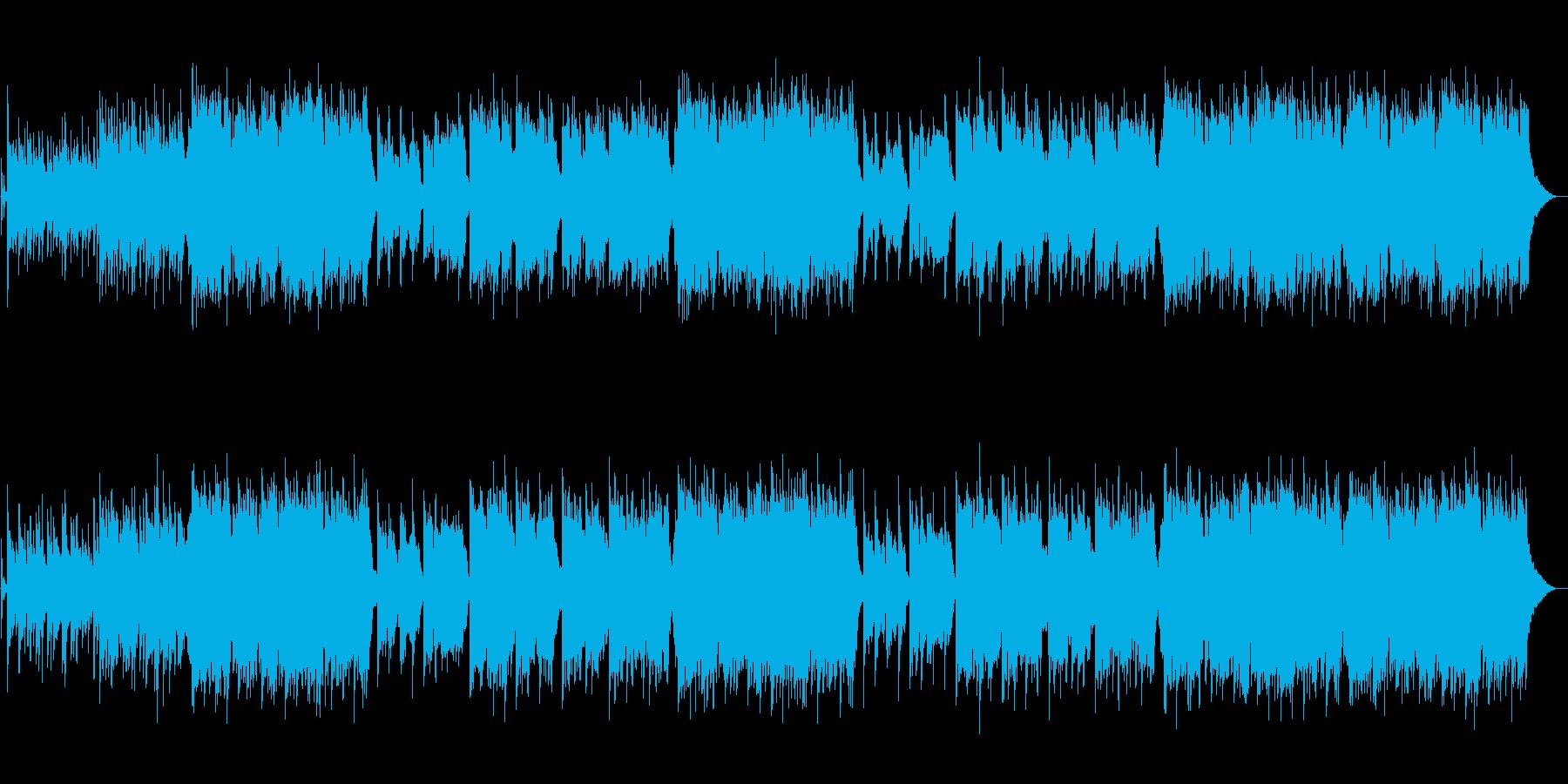 【生篠笛】情緒のある壮大な和風バラードの再生済みの波形