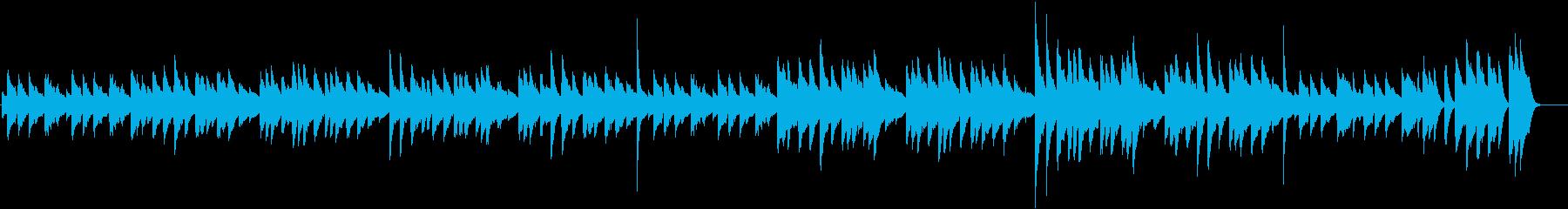 ひょうきん♪童謡・こいのぼりピアノBGMの再生済みの波形
