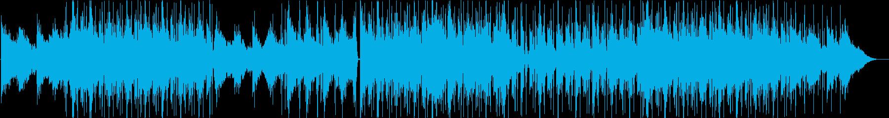 洋楽、チルアウト、ミッドテンポのR&Bの再生済みの波形