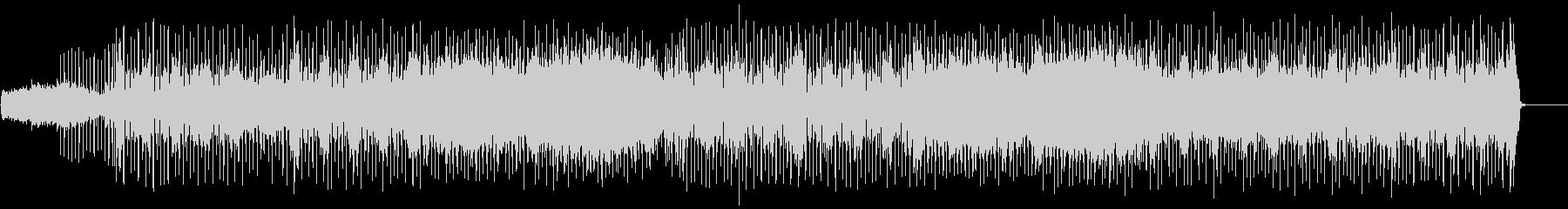 軽快なテンポで展開するファンクポップの未再生の波形