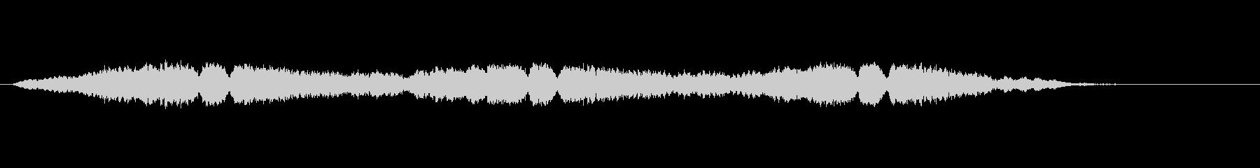 FI UFO ホバー02の未再生の波形