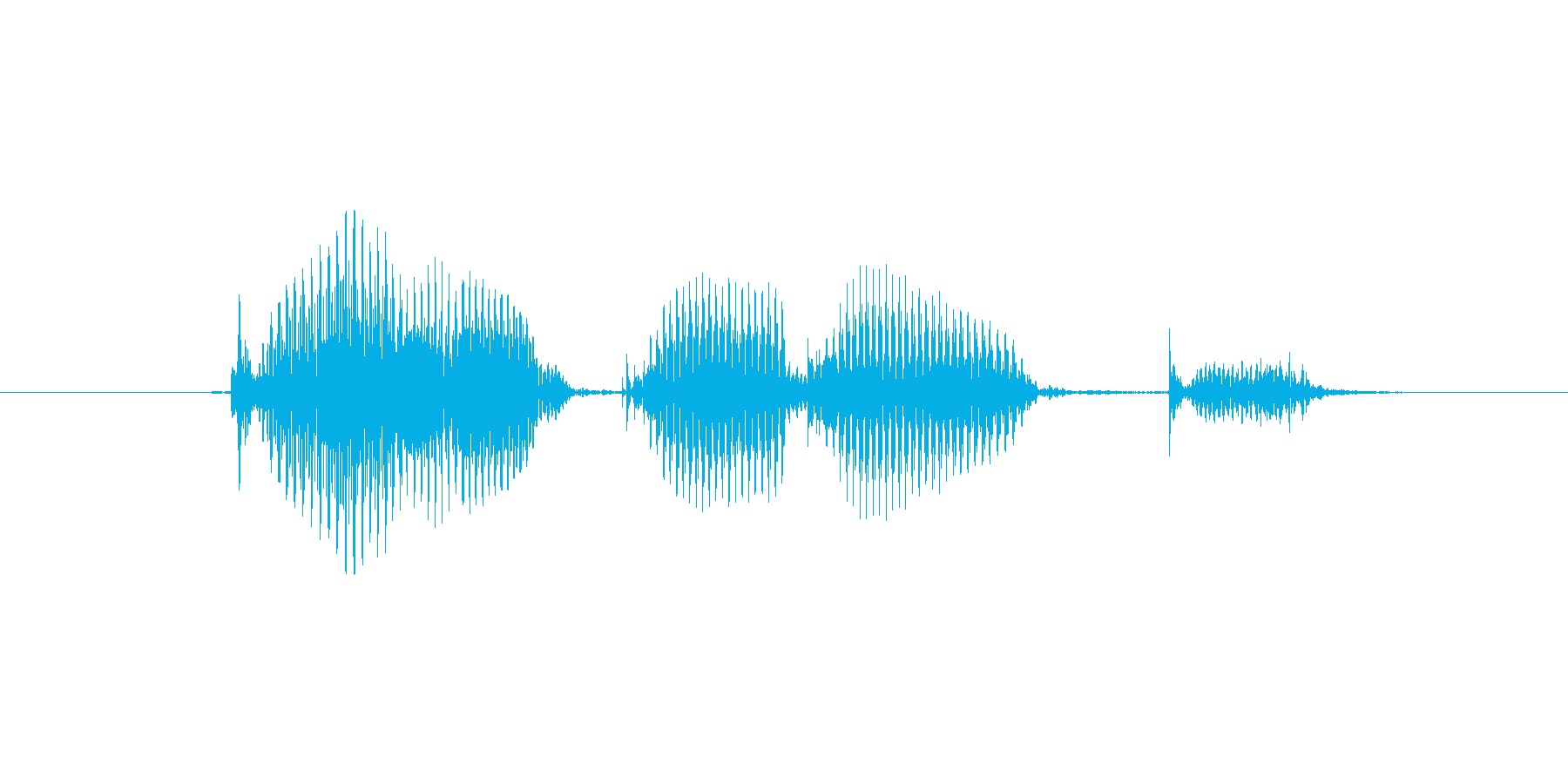 コンプリートの再生済みの波形