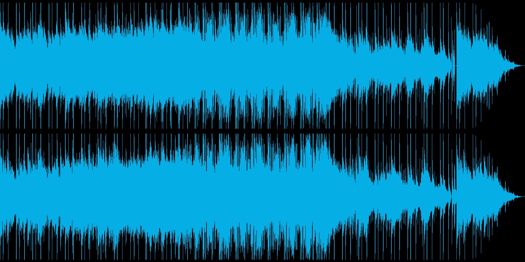 電子音を用いた幻想的で壮大なアンビエントの再生済みの波形
