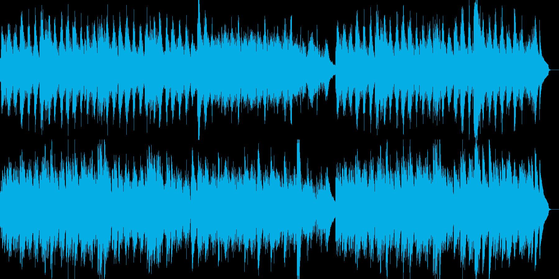 ヒーリング ピアノアルペジオ爽やか悲しさの再生済みの波形