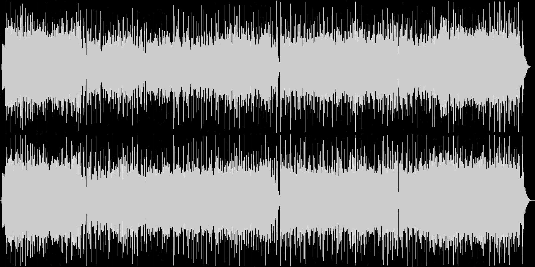 バトルに合うメタルなアニソン風BGMの未再生の波形