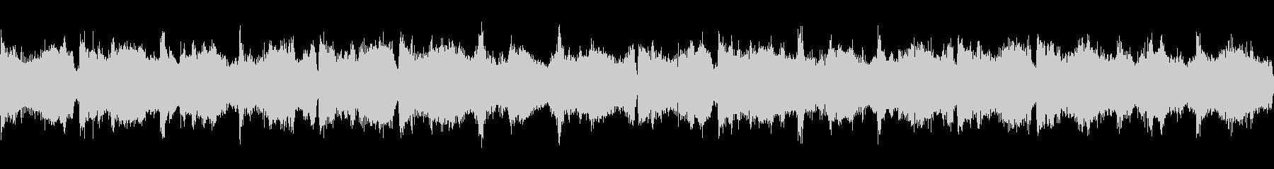 幻想的で落ち着いたアンビエント4 ループの未再生の波形