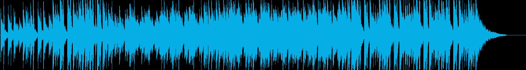 明るく華やかでかわいいピアノポップの再生済みの波形