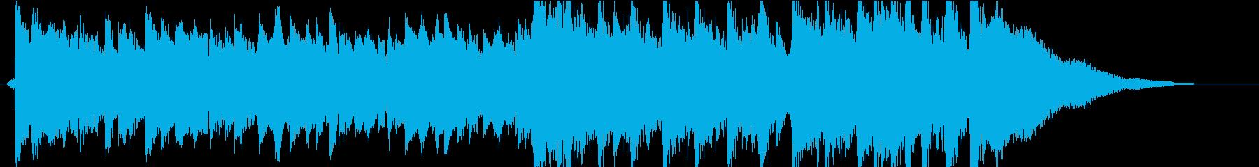 オープニング 夏の始まり 生アコギの再生済みの波形