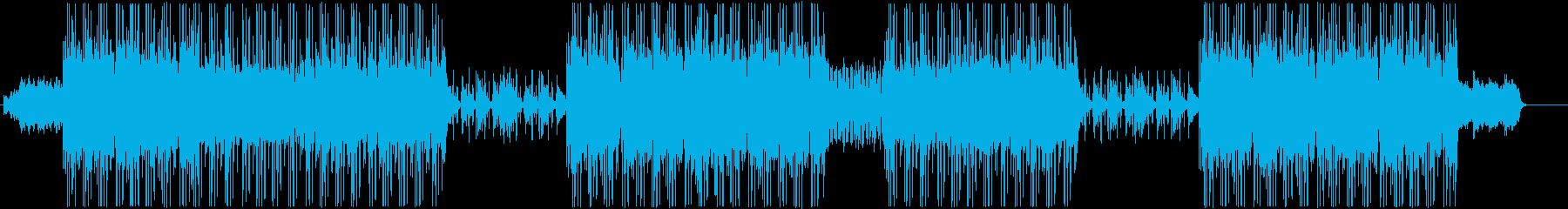 洋楽、シンセウェーブ、80sトラック♪の再生済みの波形