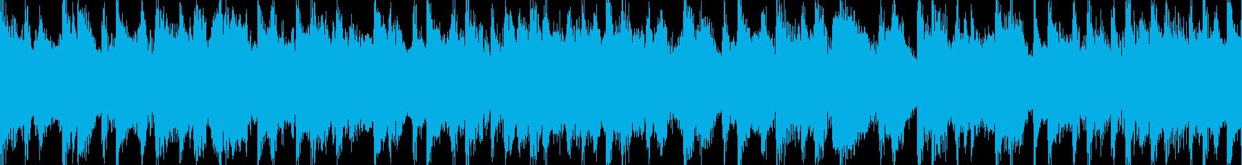 アフリカを感じる癒サウンド Loop素材の再生済みの波形