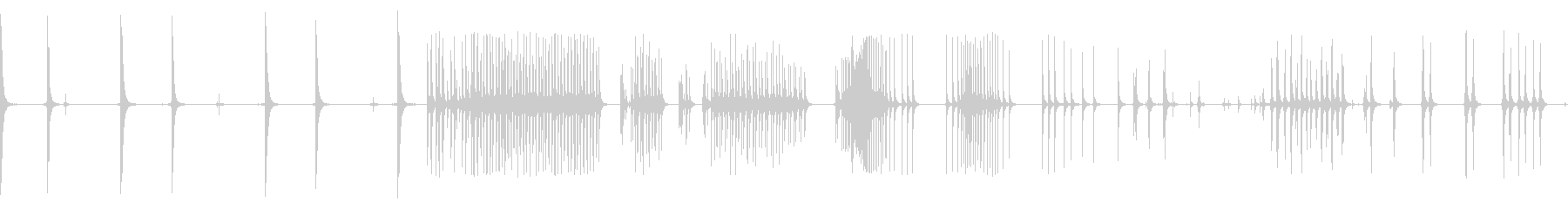 カージャックスプロケットラチェットの未再生の波形