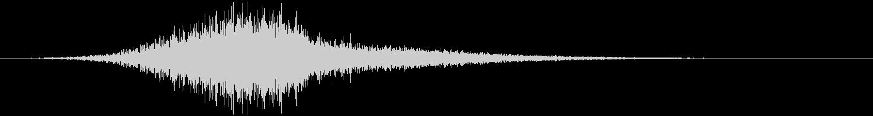 【ライザー】02 ホラーサウンド 冷気の未再生の波形