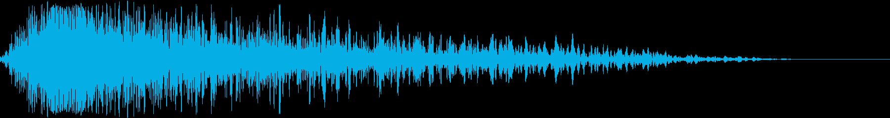 【衝撃】 17 ガーンッ ヒットの再生済みの波形