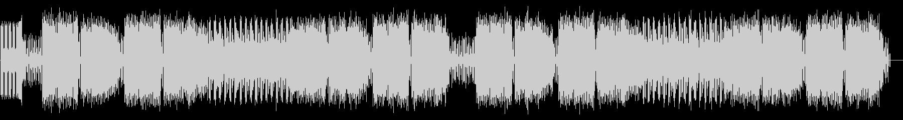 ファミコン音源を用いた戦闘BGMの未再生の波形