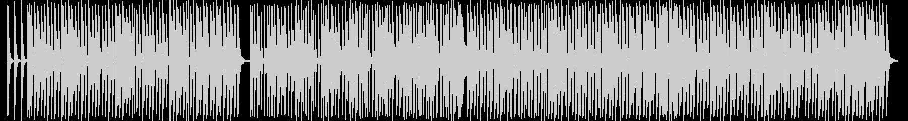 ピコピコリズム・バラエティ番組BGMの未再生の波形
