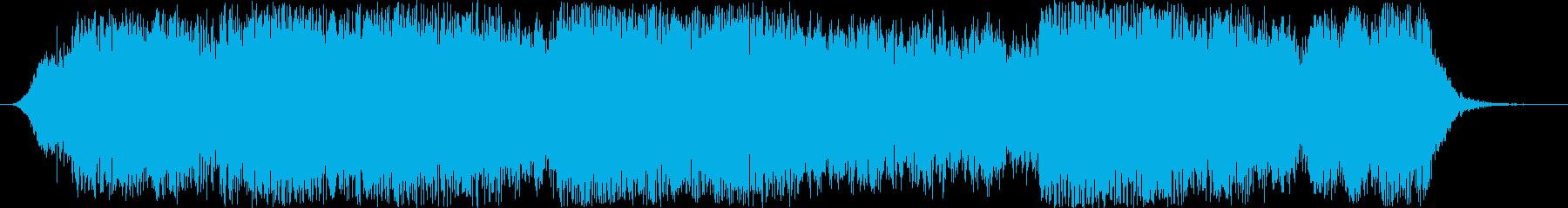巨大な電気宇宙のタイムリープの再生済みの波形