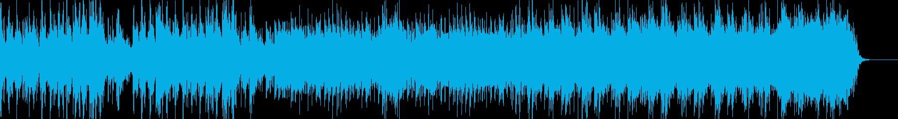 冬を感じさせる幻想的なBGMの再生済みの波形